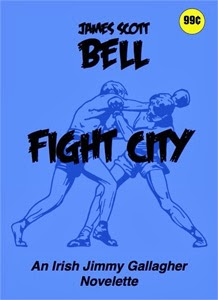 Portada original de Fight City, de James Scott Bell