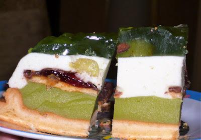Ciasto owocowe z galaretką