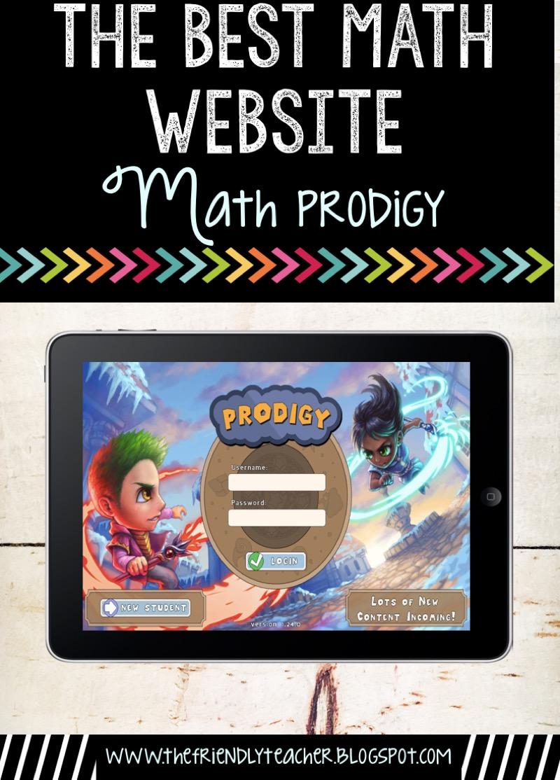 The Best Math Website EVER! - The Friendly Teacher