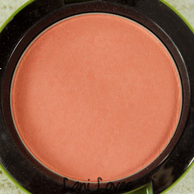 MAC MONDAY | To The Beach - Hipness Blush Swatches & Review