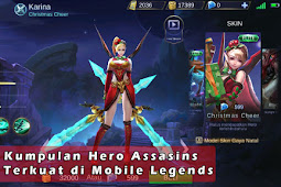 Kumpulan Hero Assasins Terkuat di Mobile Legends