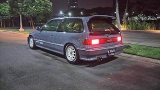 Mobil 90an Yang Masih KECE Sampai Sekarang Civic Nouva 91 2 Pintu - TANGSEL