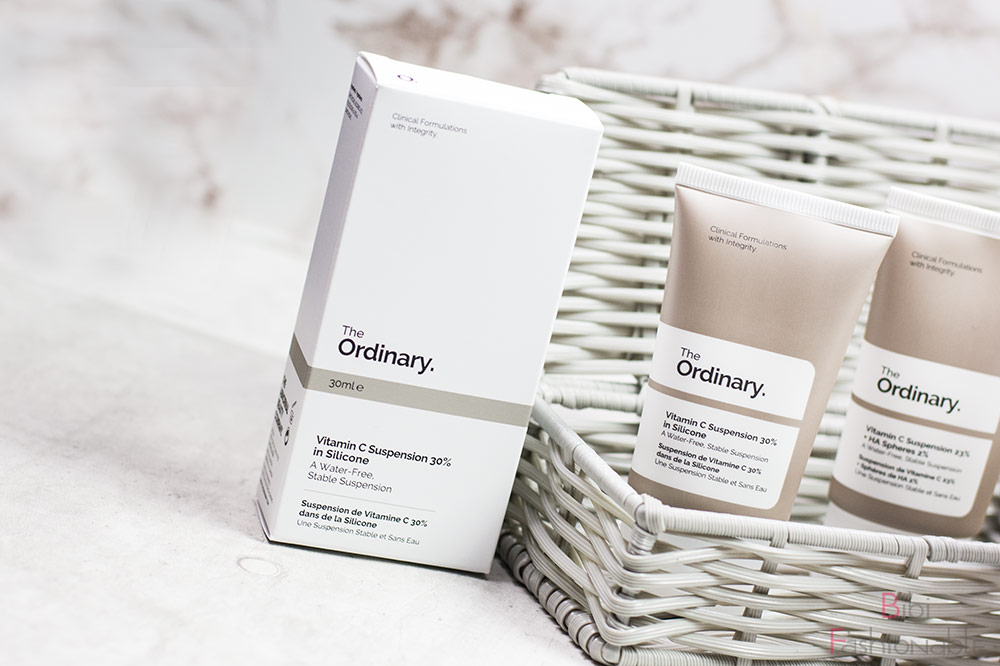 The Ordinary Vitamin C Suspension 30% in Silicone Umverpackung
