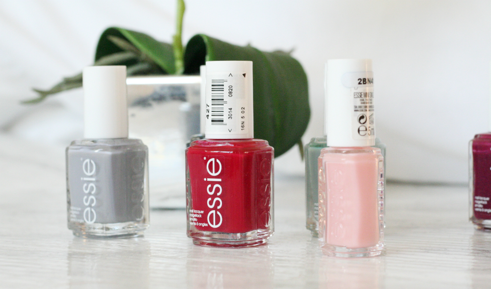 Autumnal Essie Nail Edit