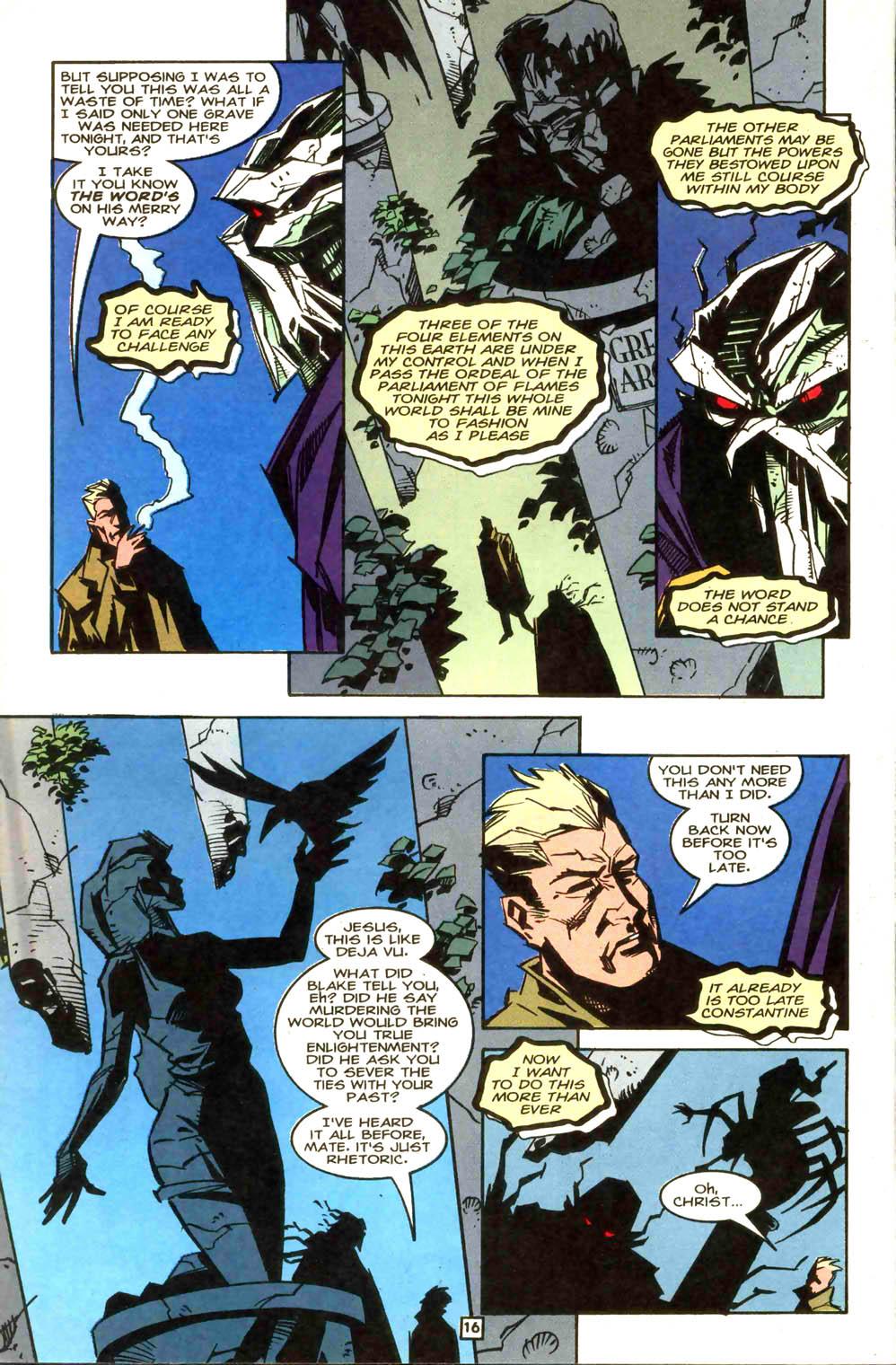 Swamp Thing (1982) #169 #177 - English 17