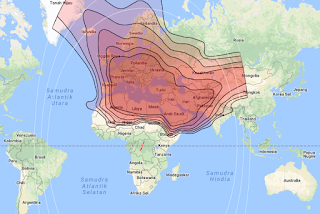 Footprint Satellite Eutelsat 21B 21.5°E KU Band