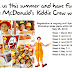 Be a McDonald's Kiddie Crew this Summer!
