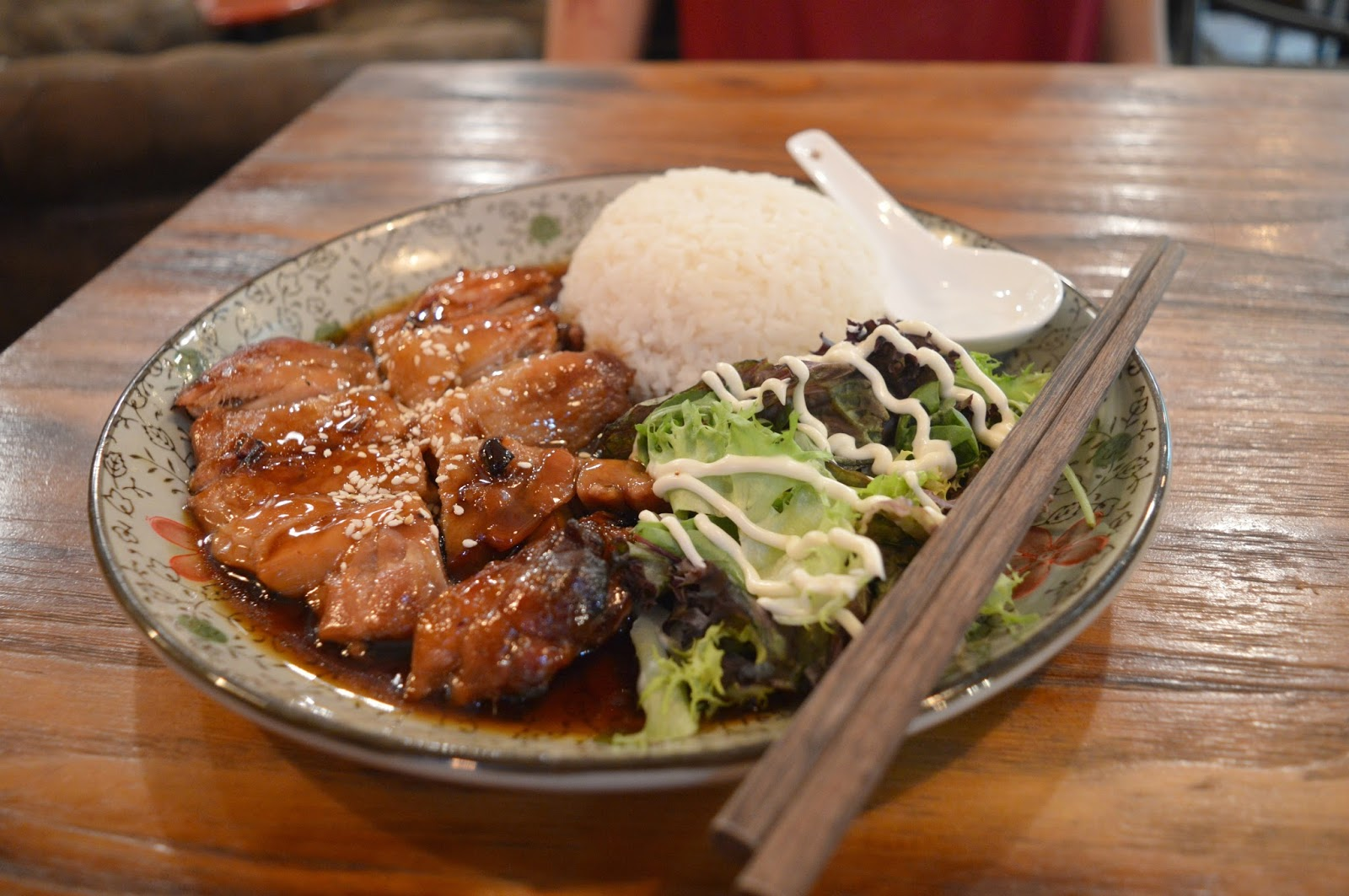 Meet and Treat, Newcastle  -  Teriyaki Chicken with Rice