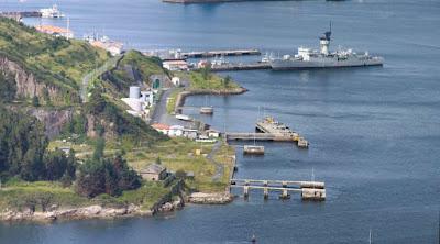La base navale di La Graña a Ferrol in Spagna