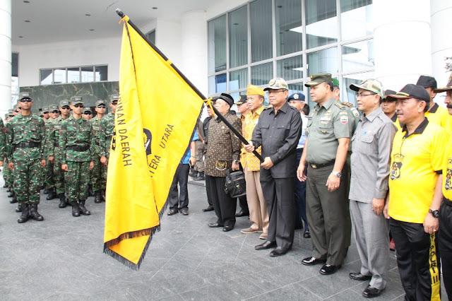 Napak Tilas Hari Pahlawan Pemprovsu Tempuh Rute 21 Km