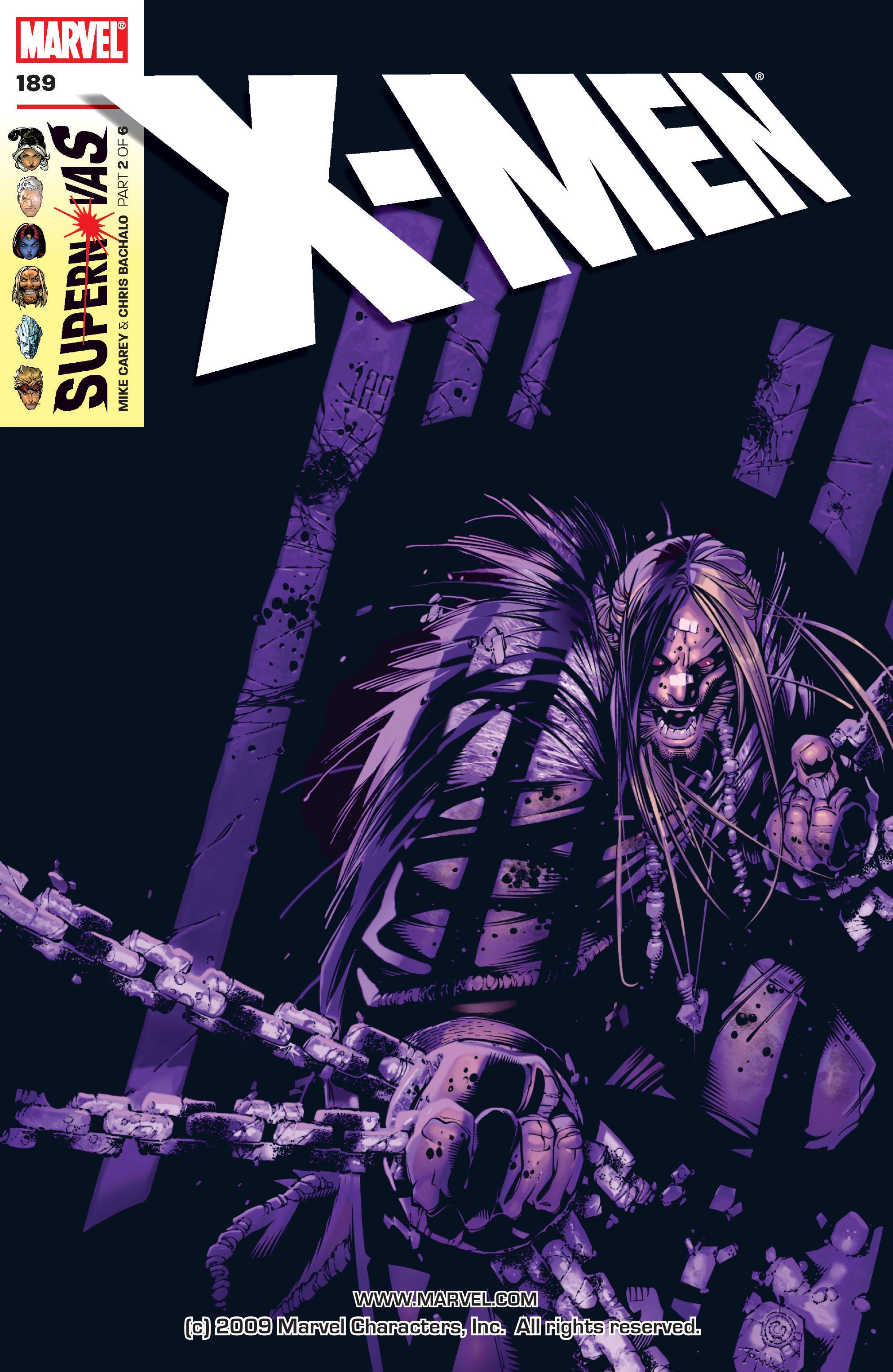 X-Men (1991) 189 Page 0