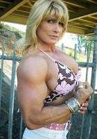 Female bodybuilding it's really a woman