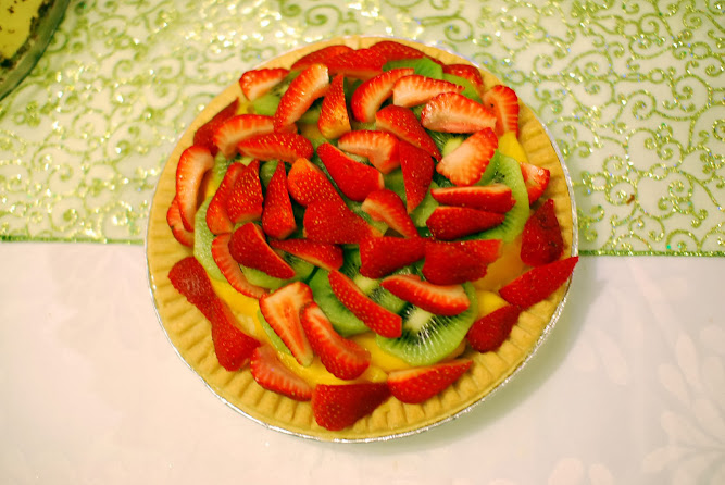 Christmas Fruit Tart Dessert Dinner Lunch Ideas Food Blog
