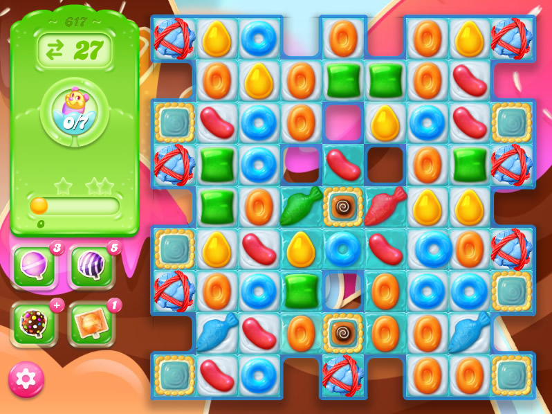 Candy Crush Jelly Saga level 617