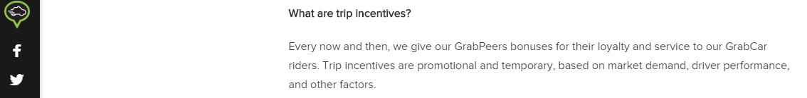 UBER and GRABCAR PH News: GrabCar and Uber Incentives :