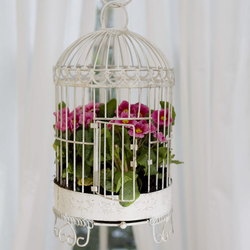 Bird Cage Planter: Camelot Art Creations: Birdcage Planters
