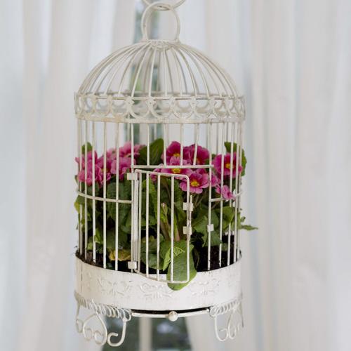 Birdcage Planter: Camelot Art Creations: Birdcage Planters
