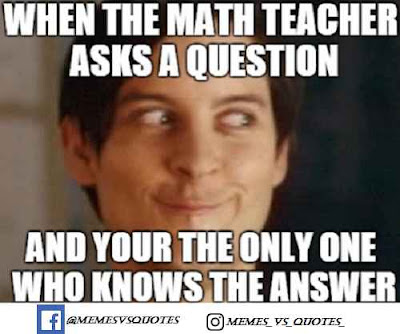 Teacher asks a question