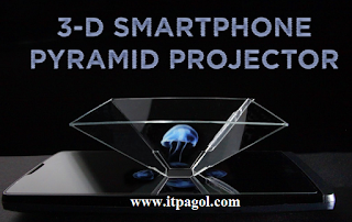 Holographic Video for Smartphone Projector