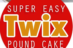 Super Easy Twix Pound Cake
