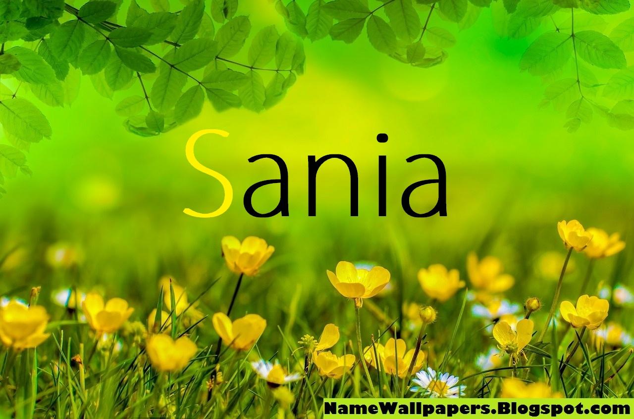 Sania Name Wallpapers Sania ~ Name Wallpaper Urdu Name ...