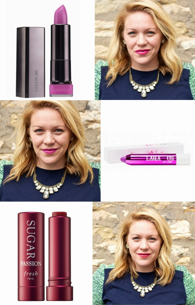 CoverGirl Spellbound Lipstick Laqa & Co lip lube menatour Sugar tinted lip treatment in passion lip colors in real life irl