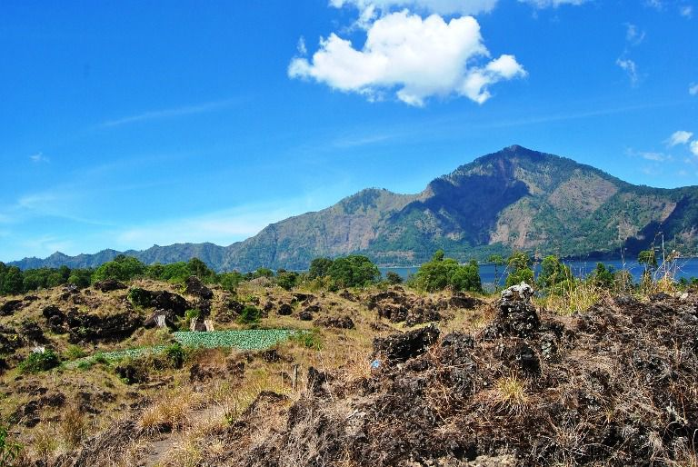 Kintamani Bali Volcano Lake Batur Tourist Attraction - Tourist, Objects, Attractions, Places, Areas, Destinations, Spots, Regions, Bali, Penelokan, Batur, Kintamani, Volcano, Mountain, Lake