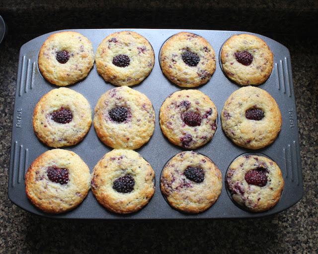 Food Lust People Love: Blackberry Lemon Thyme Muffins # ...