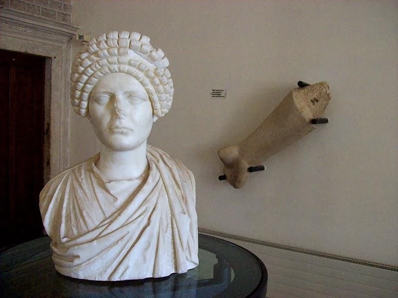 Escultura romana do Museu Arqueológico de Palestrina