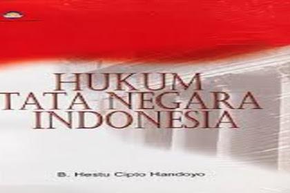 Contoh Hukum Tata Negara yang Ada di Indonesia