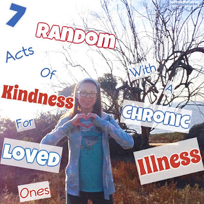 7 random acts of kindness for loved ones with a chronic illness