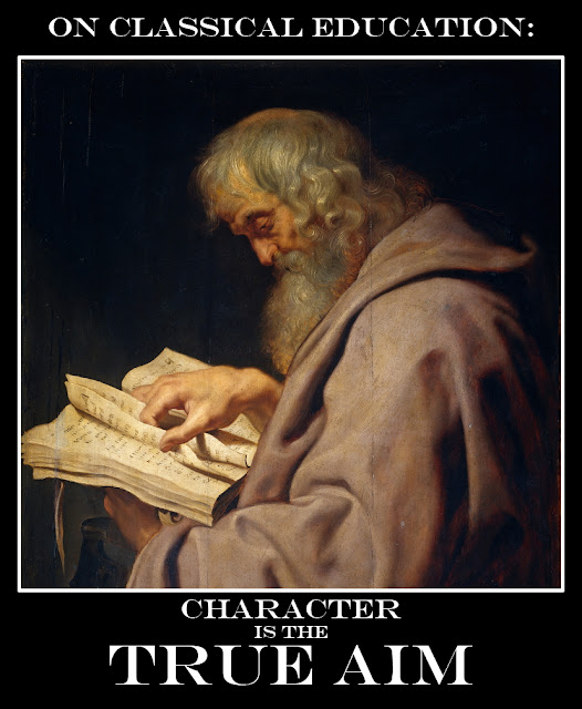 """Character is not the result of chance work but of continuous right thinking and right acting."" -David O. McKay. Art by Peter Paul Rubens - ""St. Simon"""