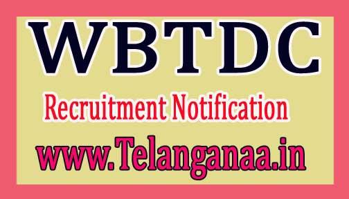 West Bengal Tourism Development Corporation NotificationWBTDC Recruitment 2017