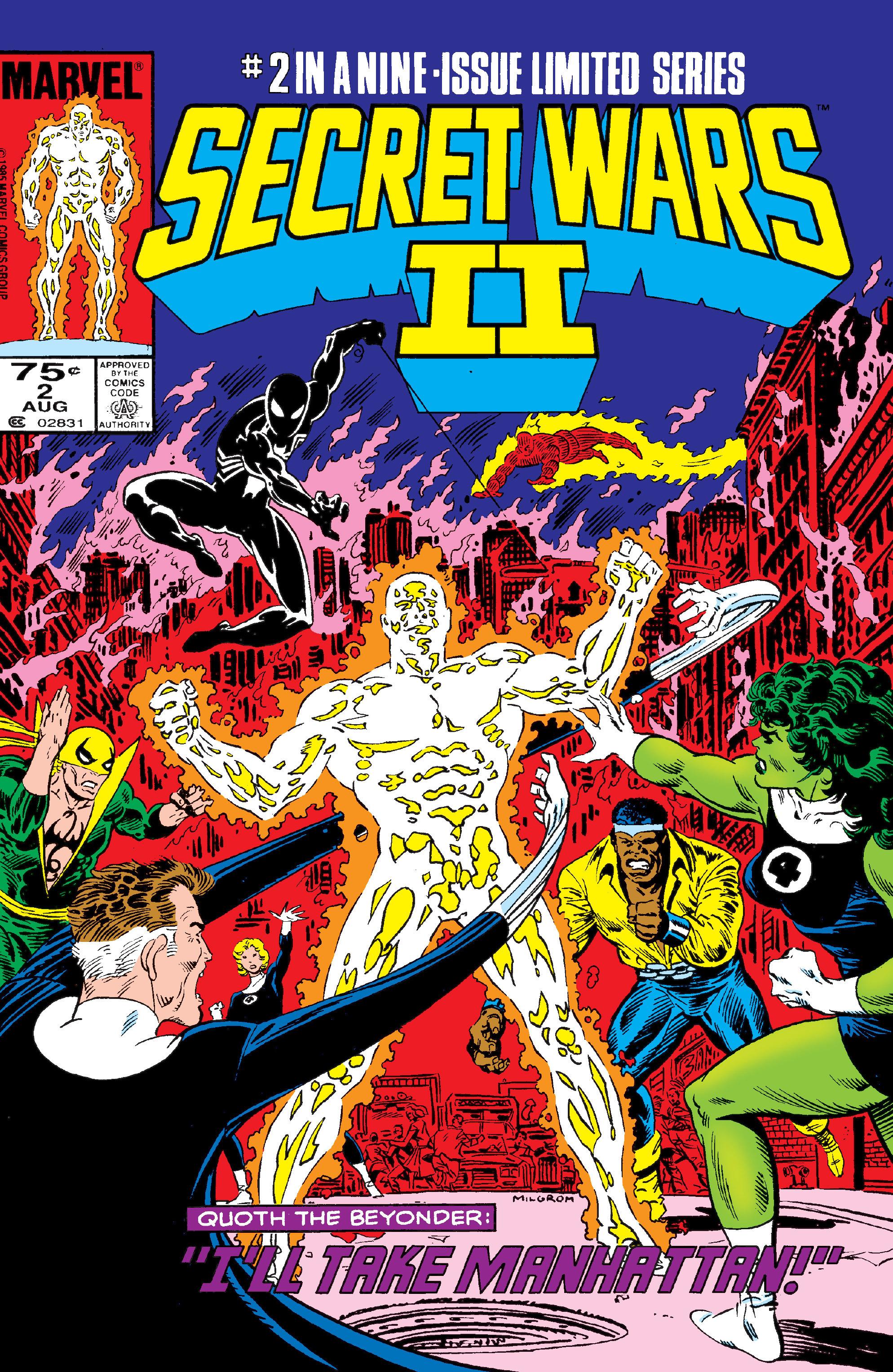Read online Secret Wars II comic -  Issue #2 - 1
