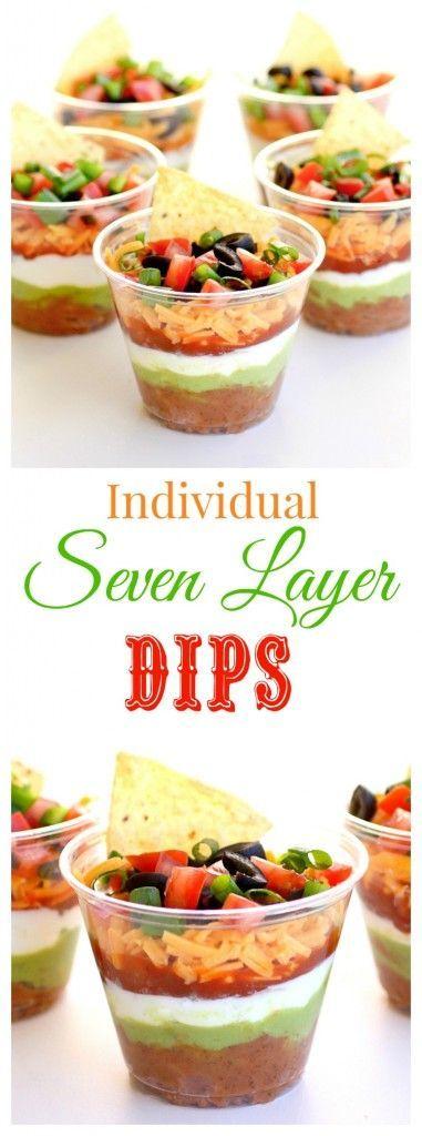 Individual Seven-Layer Dips