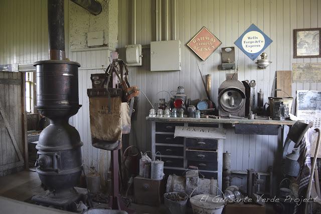 1880 Town - Dakota del Sur, oficina envios