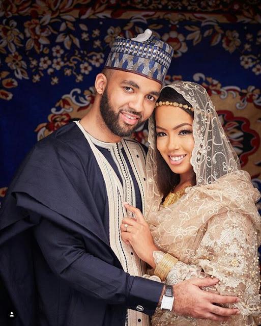 Best looking couple in Nigeria? See pre-wedding photos of billionaire daughter Mairama Indimi and her groom Mustafa Masango