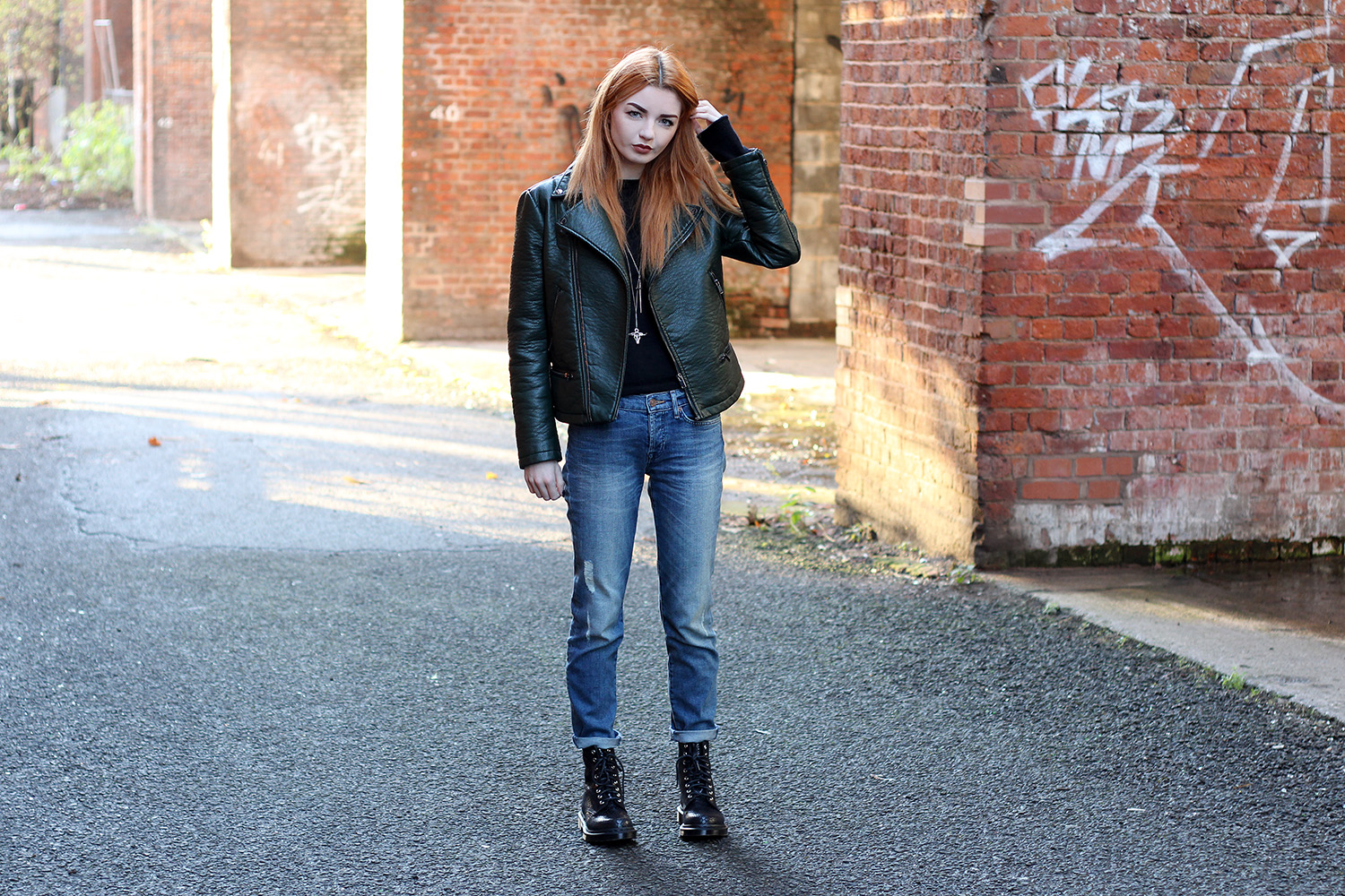 f7fce986b4aa0 Jeans and a Jumper. Jeans and a Jumper. Jacket – Zara ...