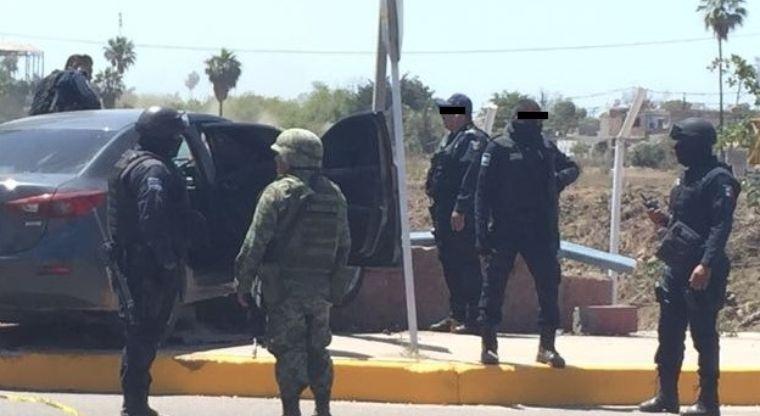 Sicarios rescatan a delincuente de policías de Navolato