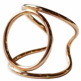 Atomic Circle Cuff Ring