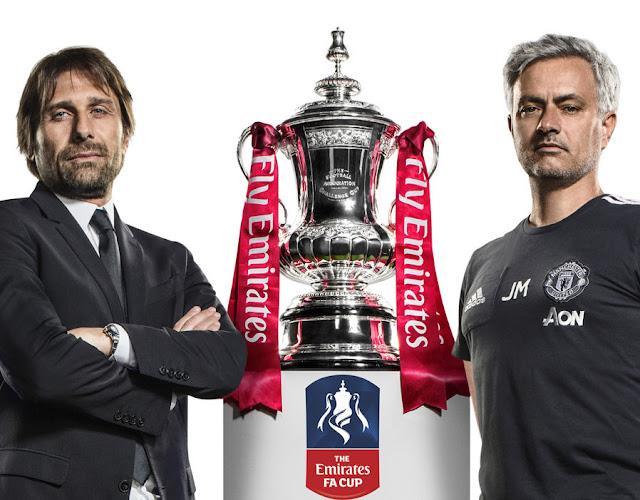 Prediksi Chelsea vs Man United, Final Piala FA 2018