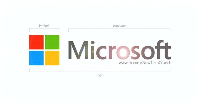 Microsoft New Logo Design in 2012