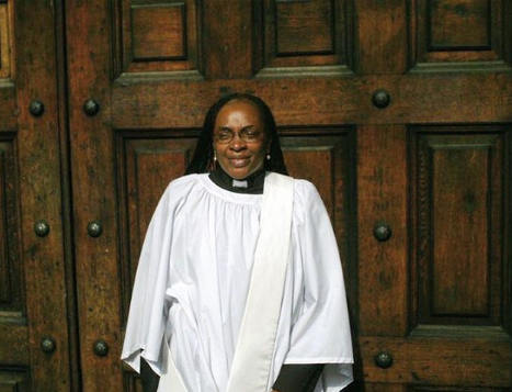 Bisi Alimi Shares Photo Of The Female Nigerian Anglican Priest Who Will Officiate His Wedding Next Month