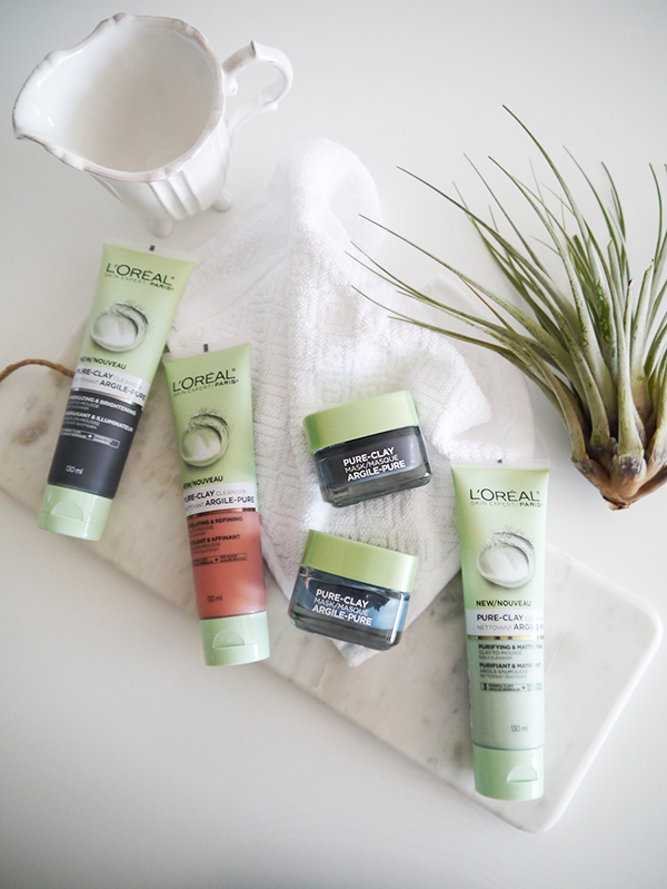 L'Oreal Pure-Clay Masks & Cleansers