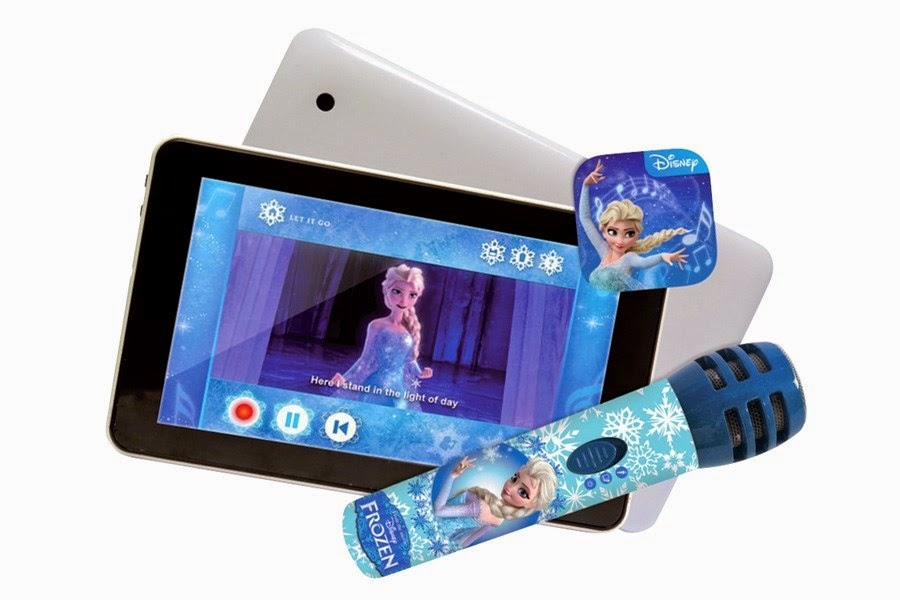 Disney Frozen Tablet & Microphone