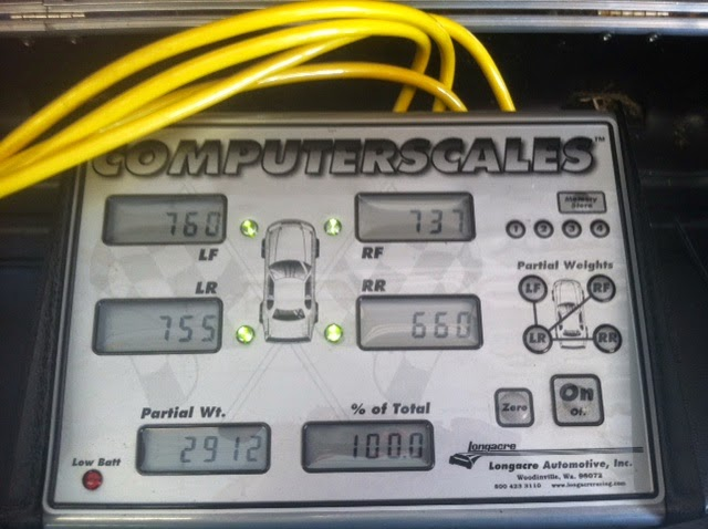 when scaling any race car, there are a few simple but important steps to  follow  we use longacre electronic scales, with each load cell marked for  the the