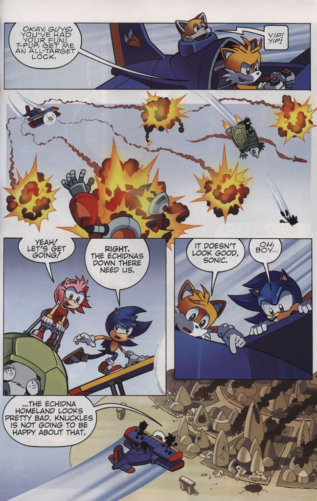 Read online Sonic The Hedgehog comic -  Issue #242 - 29