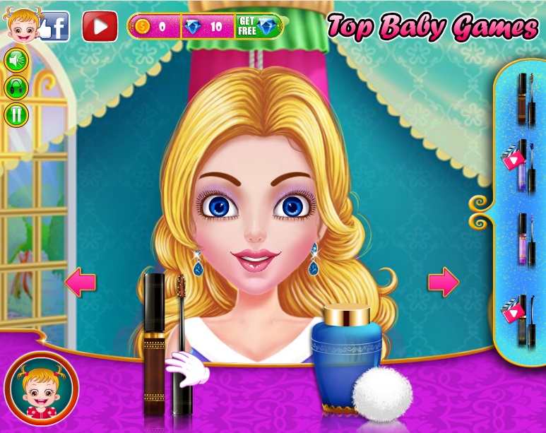 It time to give different makeovers to Princess Cinderella! It truly a rewarding experience to help Cinderella look pretty with a decent makeup and ...
