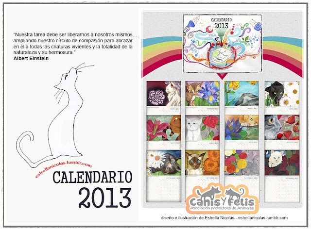 Calendario 2013 Design Illustration