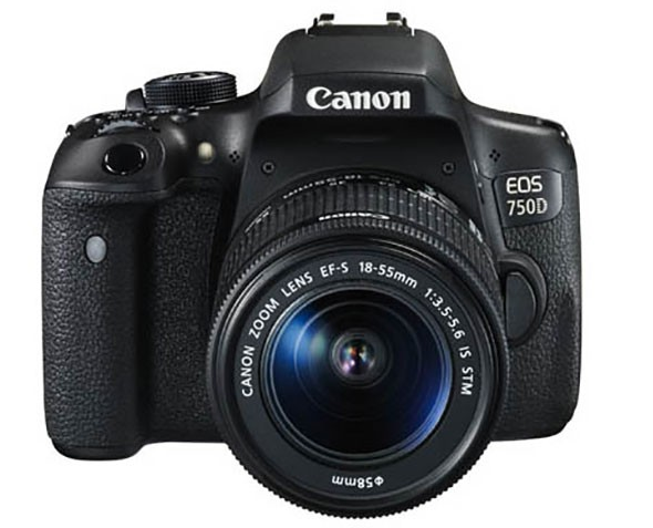 Canon EOS 750D / Rebel T6i DSLR Camera